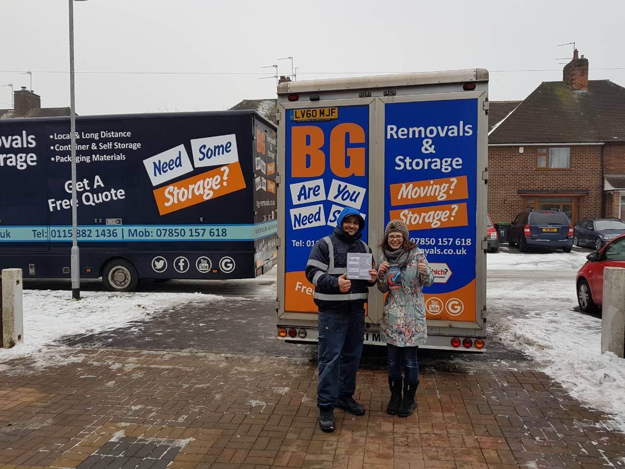 41d9cbfd0a4b04 Man and Van Hire Nottingham - BG Removals Removals Company