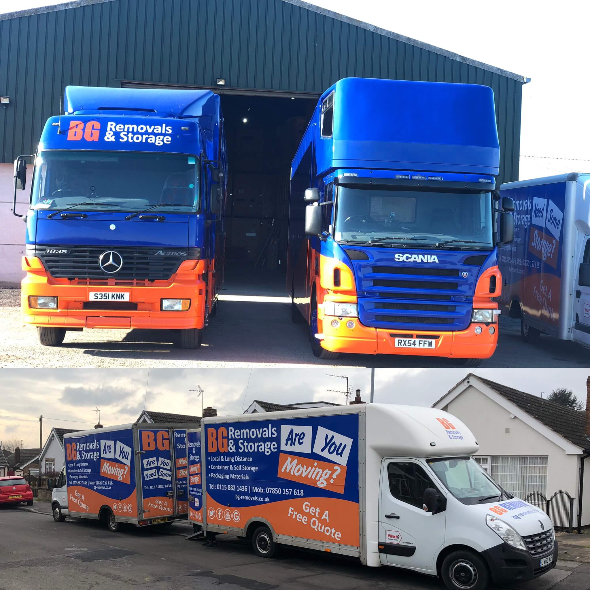 Removals Derby