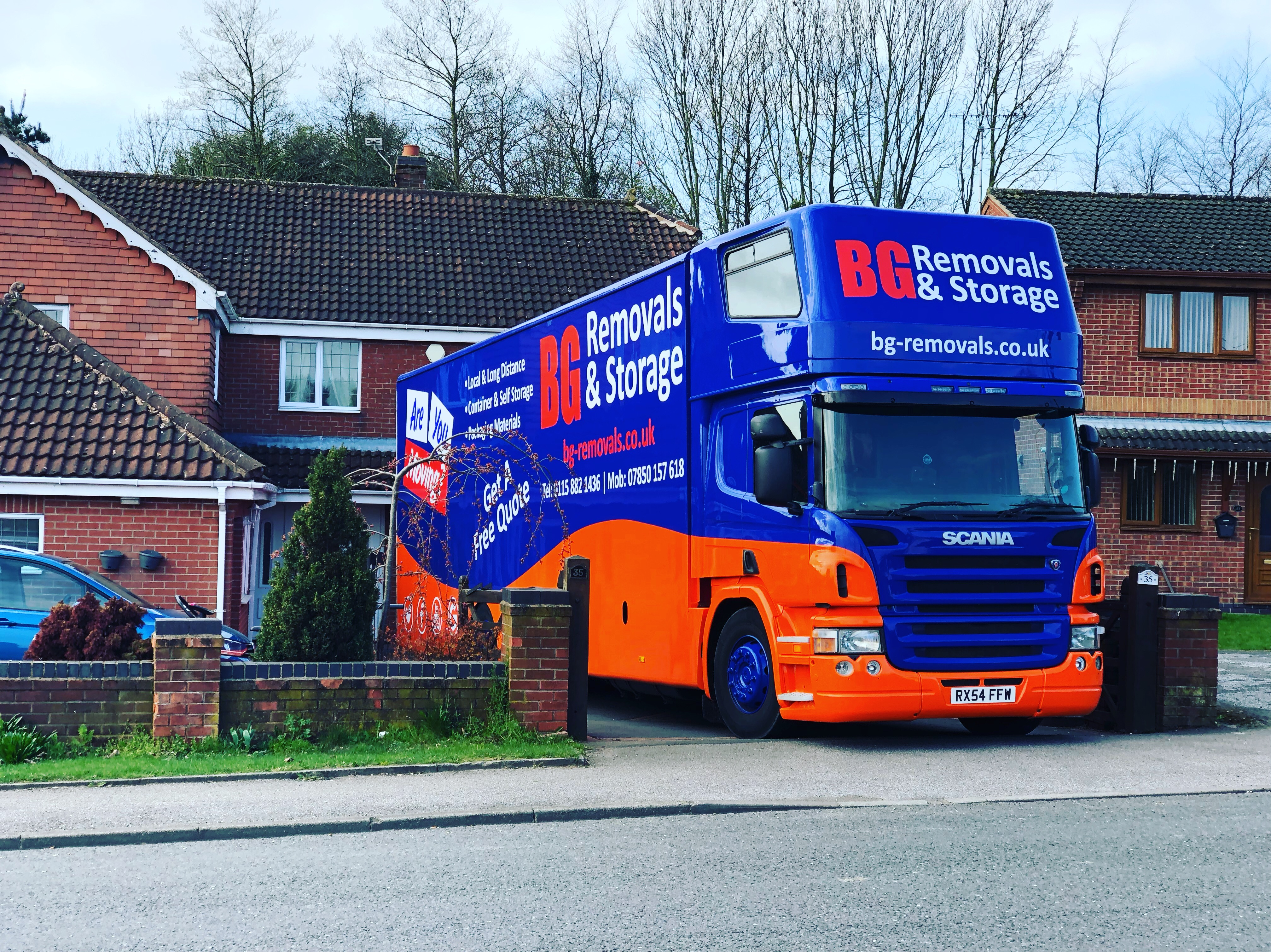 House Removals Mansfield